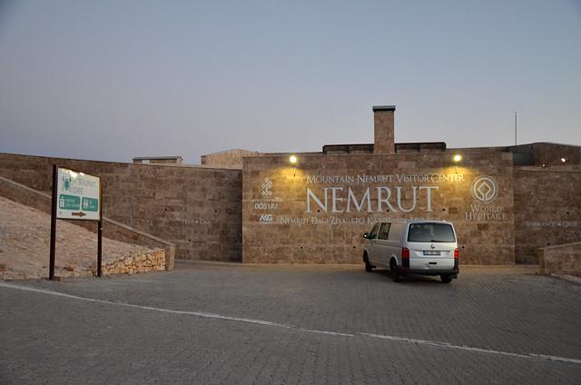 The new Mountain Nemrut Visitor Center, Nemrut Dagi, Turkey