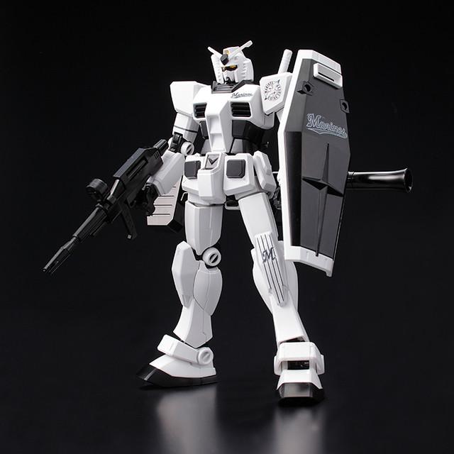 《機動戰士鋼彈》X日本職棒 40 週年合作紀念商品『HG 1/144 RX-78-2 鋼彈 12球團配色版』登場!