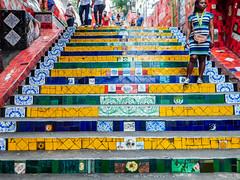 The Selaron Stairs, Escadaria Selaron