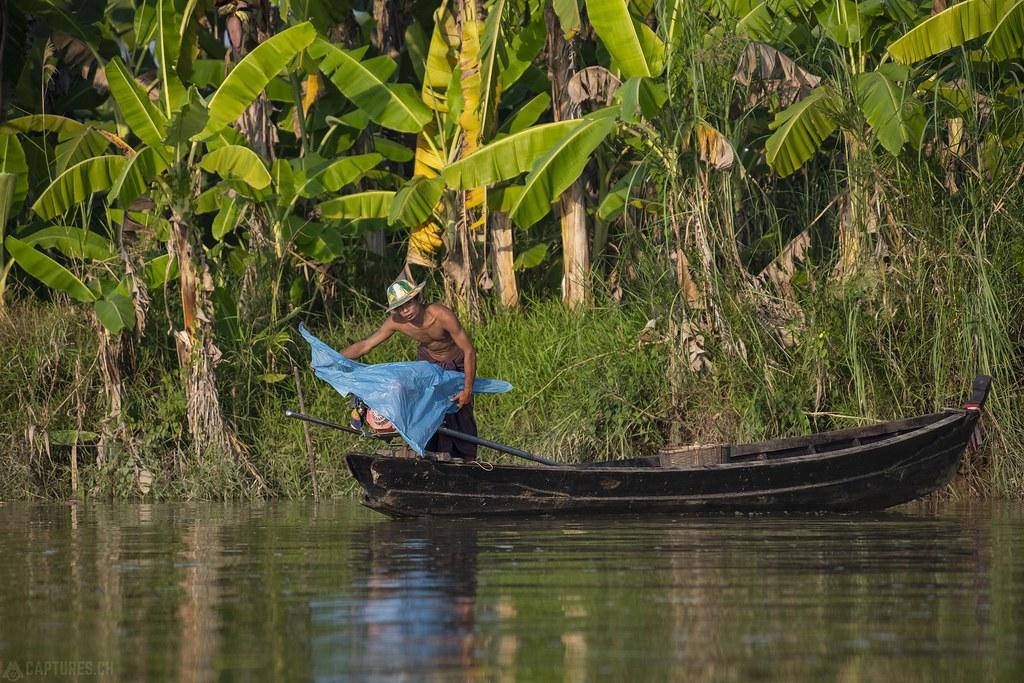 Fishermen - Saluen River