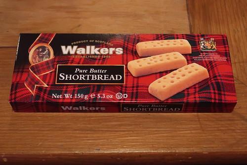 Pure Butter Shortbread (von Walkers)