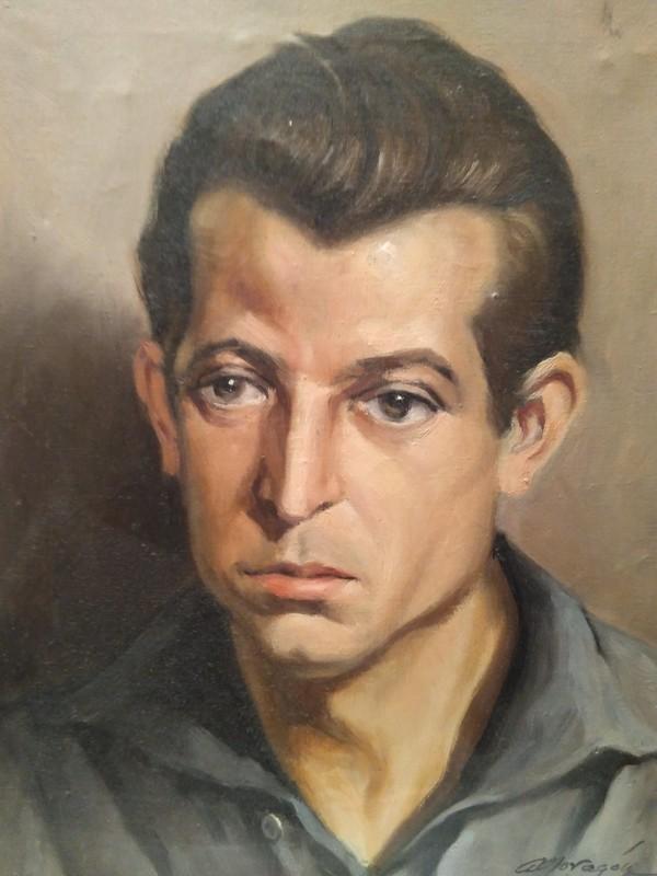 Retrato al óleo de Sánchez-Colorado por Antonio Moragón. Colección de Pedro Sánchez-Colorado