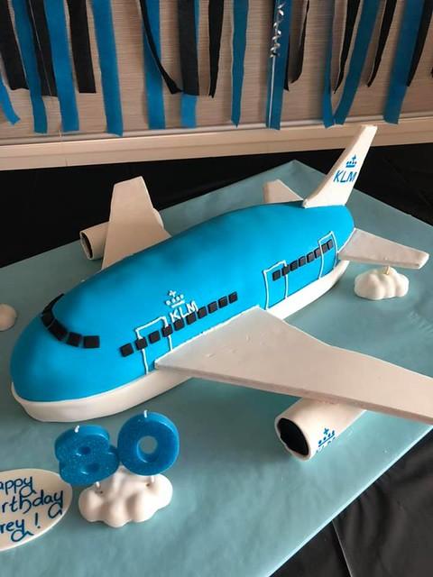 Airplane Cake by Mariza De Zilva Perera