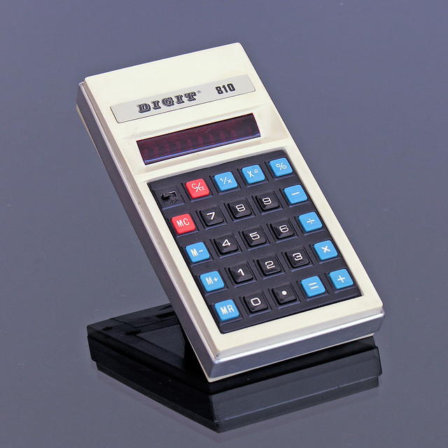 DIGIT 810 Calculator