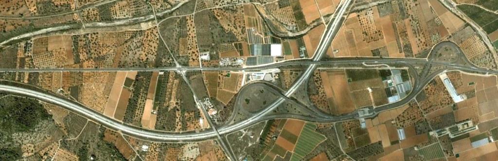 entrada a peñíscola, N-340, castellón, rotondismos por velocidad, antes, urbanismo, planeamiento, urbano, desastre, urbanístico, construcción