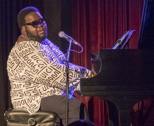 Craig Adams at Piano Night. Photo by Marc PoKempner.