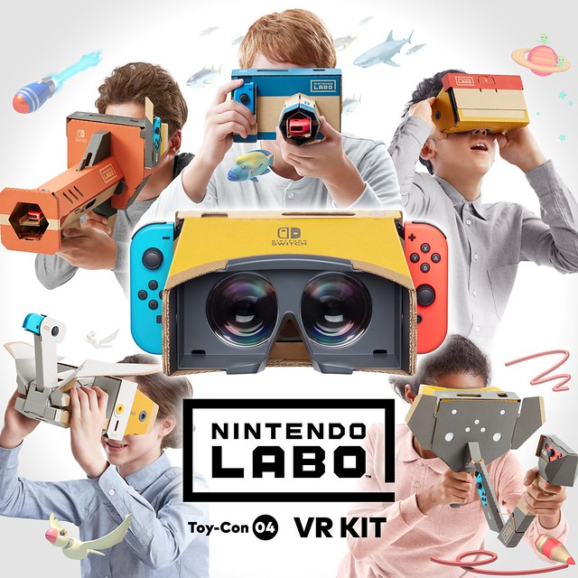 Κιτ Nintendo Labo VR