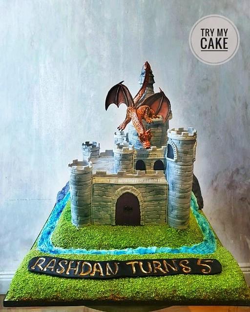 Cake by Liva Rahman of Try My Cake