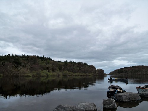 From Lough Corrib to Lough Mask.