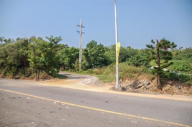 琉球嶼入口岔路