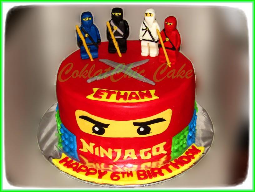 Cake Ninjago ETHAN 22 cm