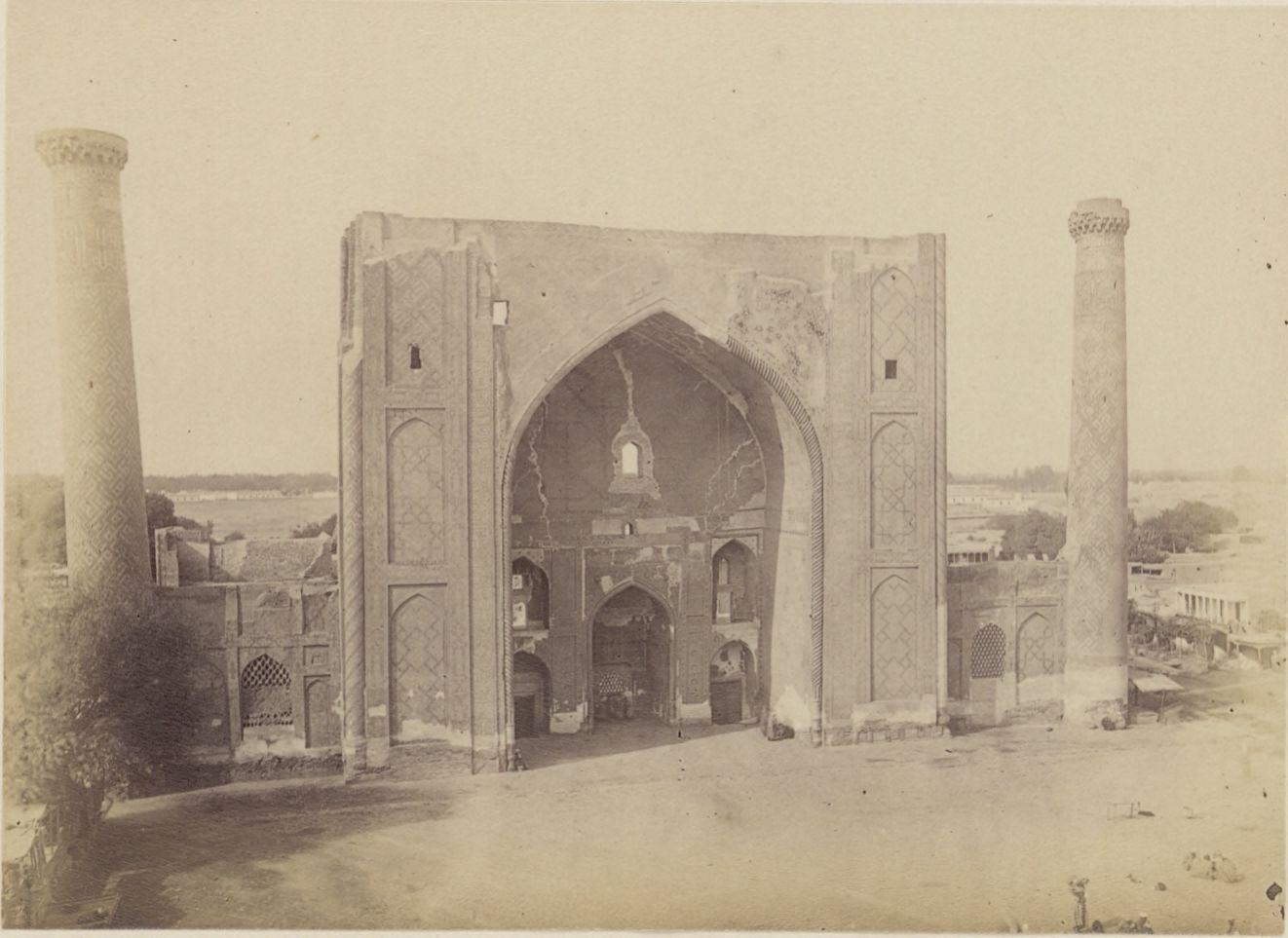 21. Самарканд. Мечеть Улугбека