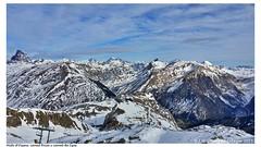 Panorámica invernal del pico Midi d'Ossau, canal Roya y canal de Izas