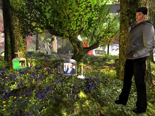 Living Memories Memorial Garden - In Our Memories - Chip Takacs