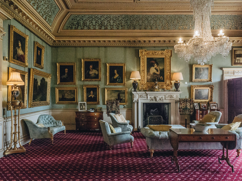 Haddo House - drawing room-6