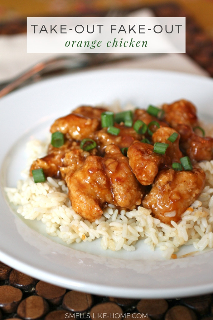 Take Out Fake Out Orange Chicken