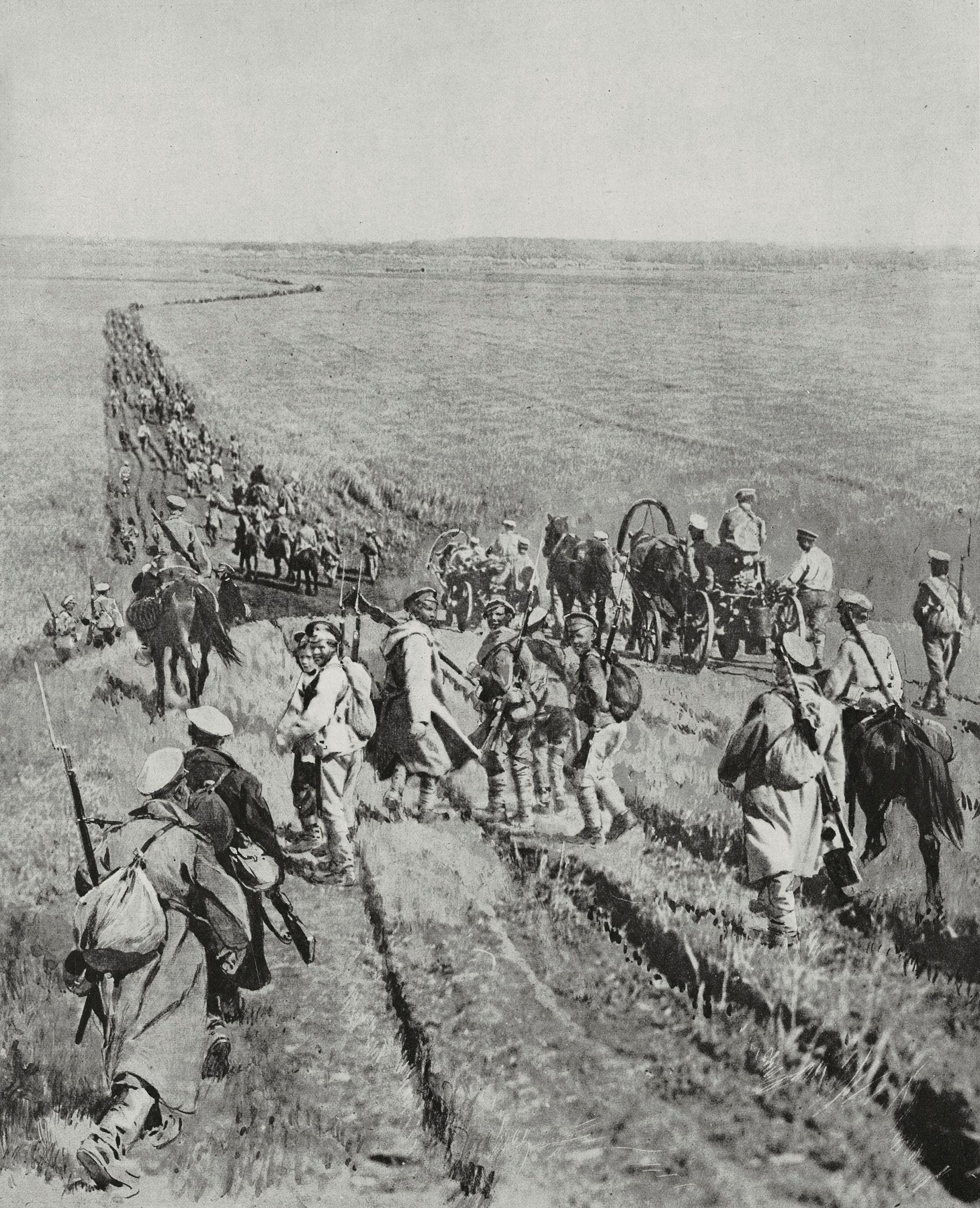 Отступление колчаковцев в Уфимском крае, июнь