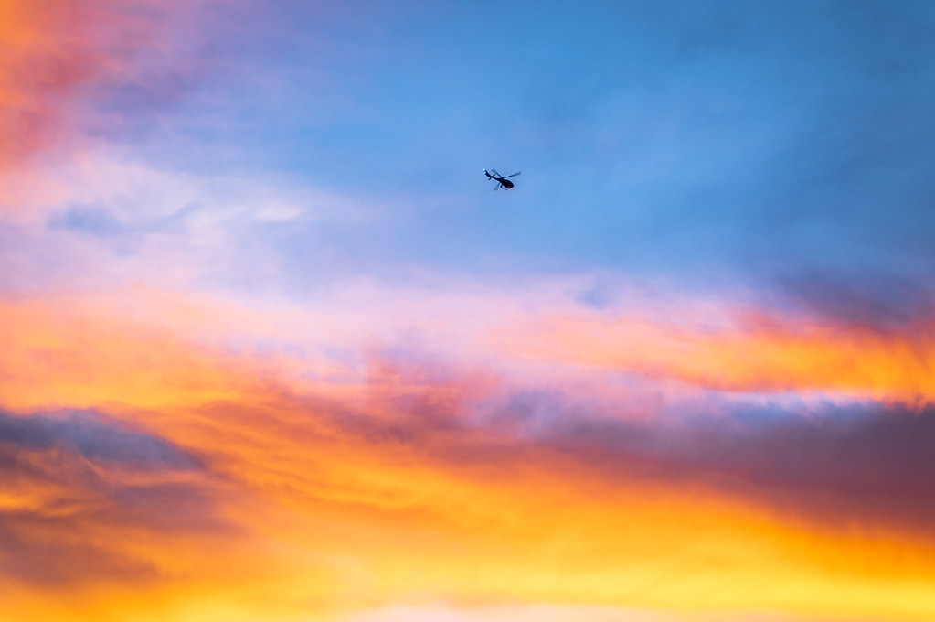 California 2018-Las Vegas helicopter sunset-33 | Selim Suner | Flickr