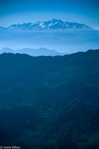 Picos de Europa, desde El Fitu, 1997