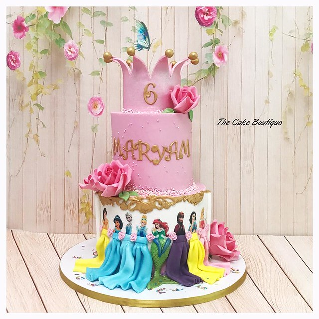 Cake by The Cake Boutique (Kholoud Hussein)