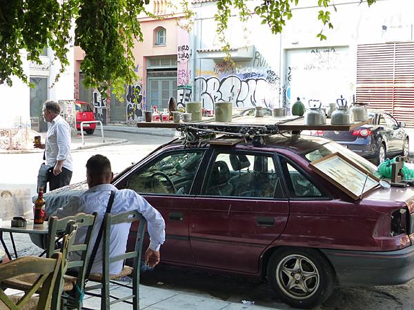 vieilleries sur voiture