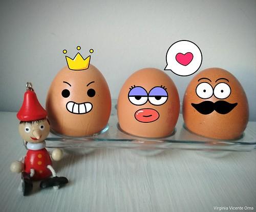 echale huevos que la vergüenza te durara una hora y la duda toda la vida