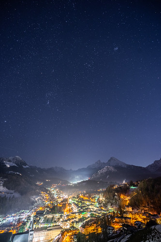 Stars over Berchtesgaden from Toni Hoffmann