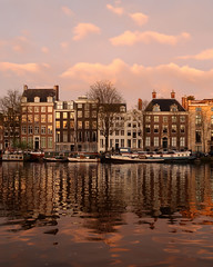 Early Morning on the Amstel River