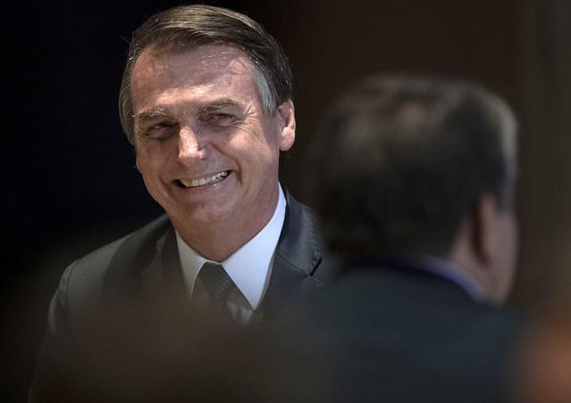 O presidente de extrema-direita vai usar Funrural como moeda de troca com a bancada ruralista - Créditos: Mauro Pimentel / AFP