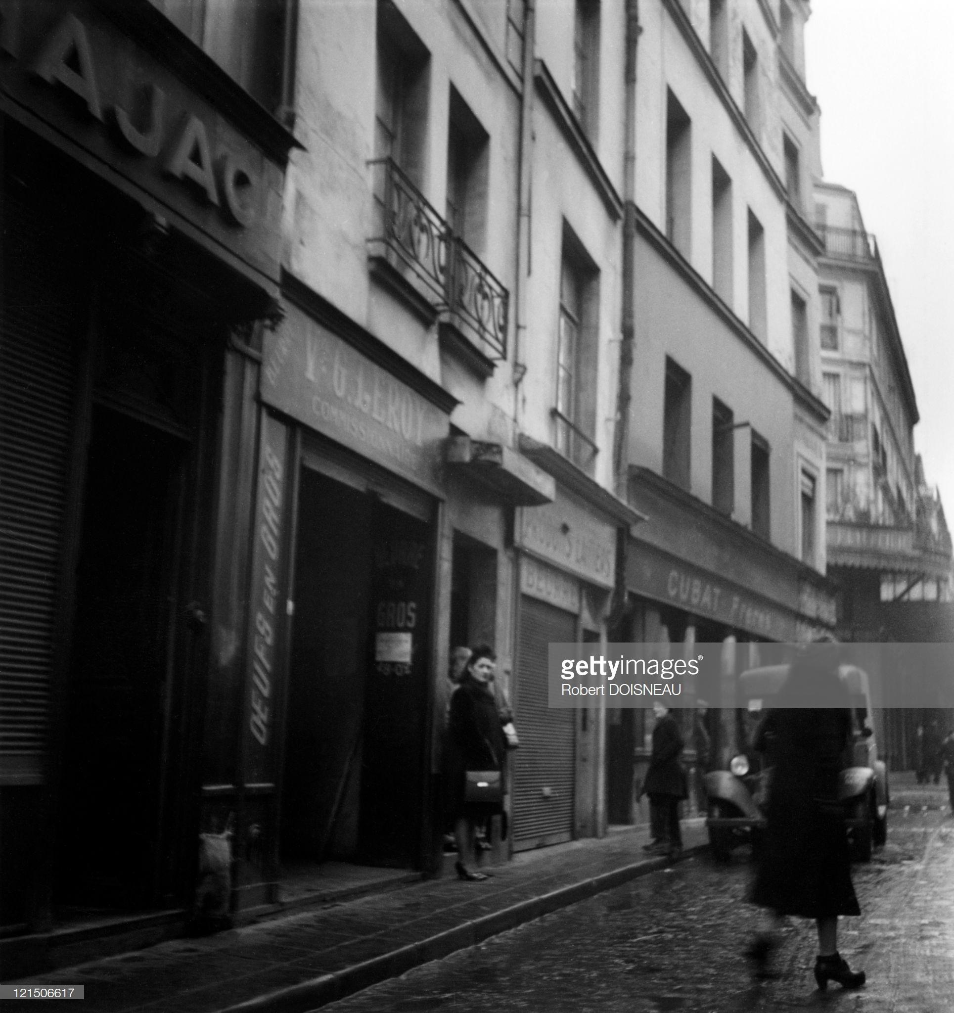 1940. Проституция в Париже