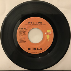 THE BAR-KAYS:SON OF SHAFT(RECORD SIDE-A)
