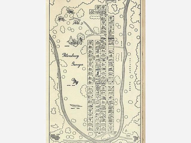 Plan of Petersburg