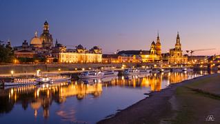 summer evening in Dresden