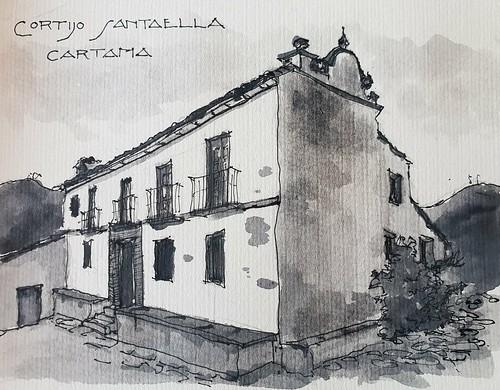Cortijo Santaella Cártama (Málaga)