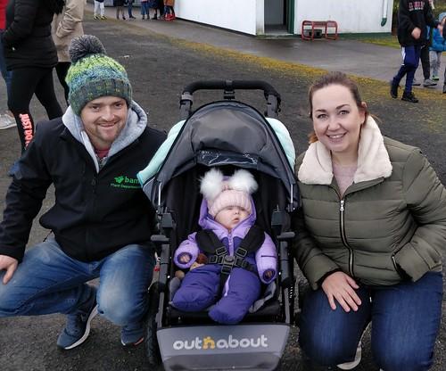 Little Alannah Grace with parents Ivan and Aislinn
