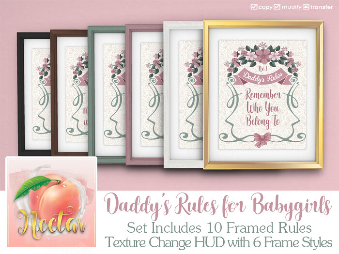 Nectar – Daddy's Rules MP AD
