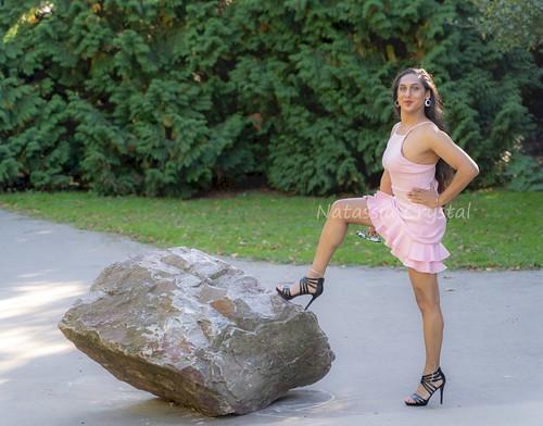Rocking this dress.. geddit?