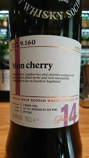 SMWS 9.160 - Mon cherry