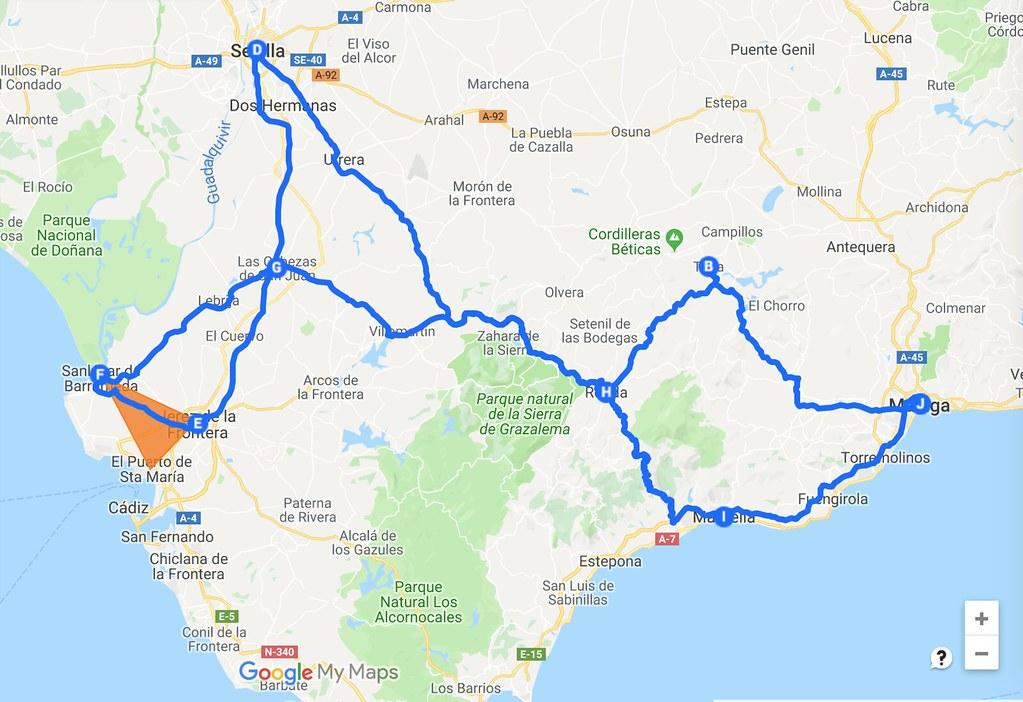 Andalusian Road Trip
