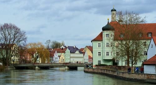 Landshut - Isar View