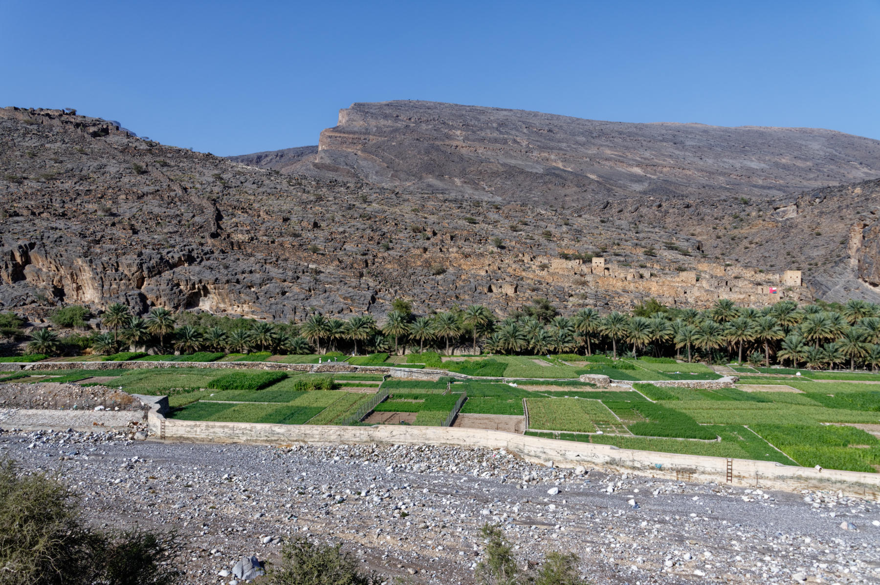 Wadi Ghul, Oman, abandoned village