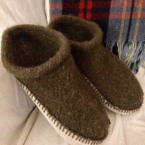 chantrykathy's Felted Clogs! We'll be making these for our Felted Clogs Class!