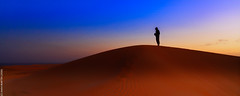 After the sunset (Adrar, Mauritanie)
