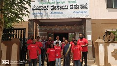 Oracle Volunteers with @tcfindia Team