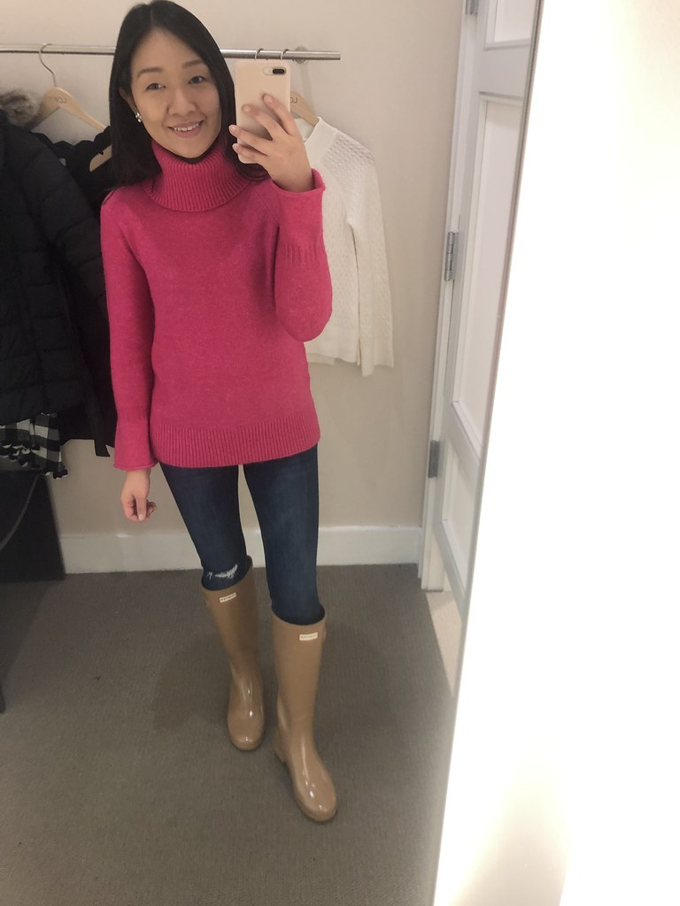LOFT Flare Sleeve Sweater, size XXSP