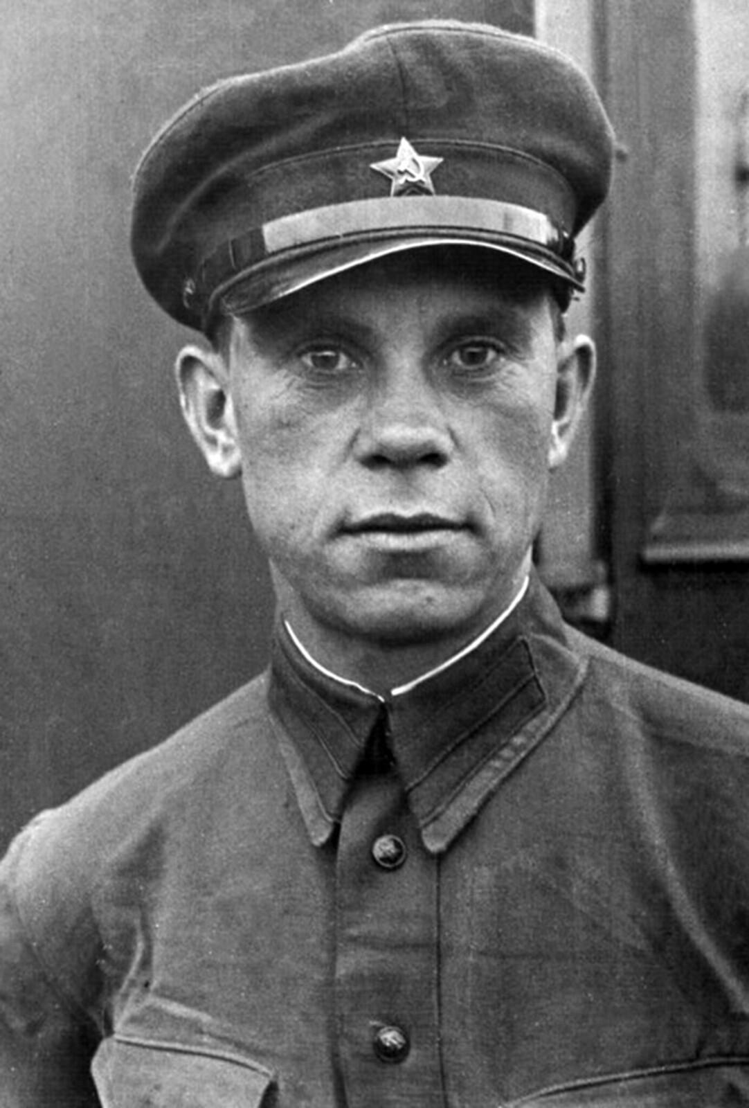 1936. Рядовой боец-пограничник Андрей Александрович Ермаков