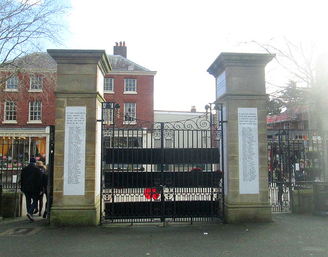 Oswestry World War 2 Memorial