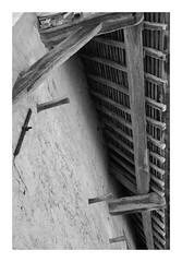 Détail de la grange dîmière - Théméricourt