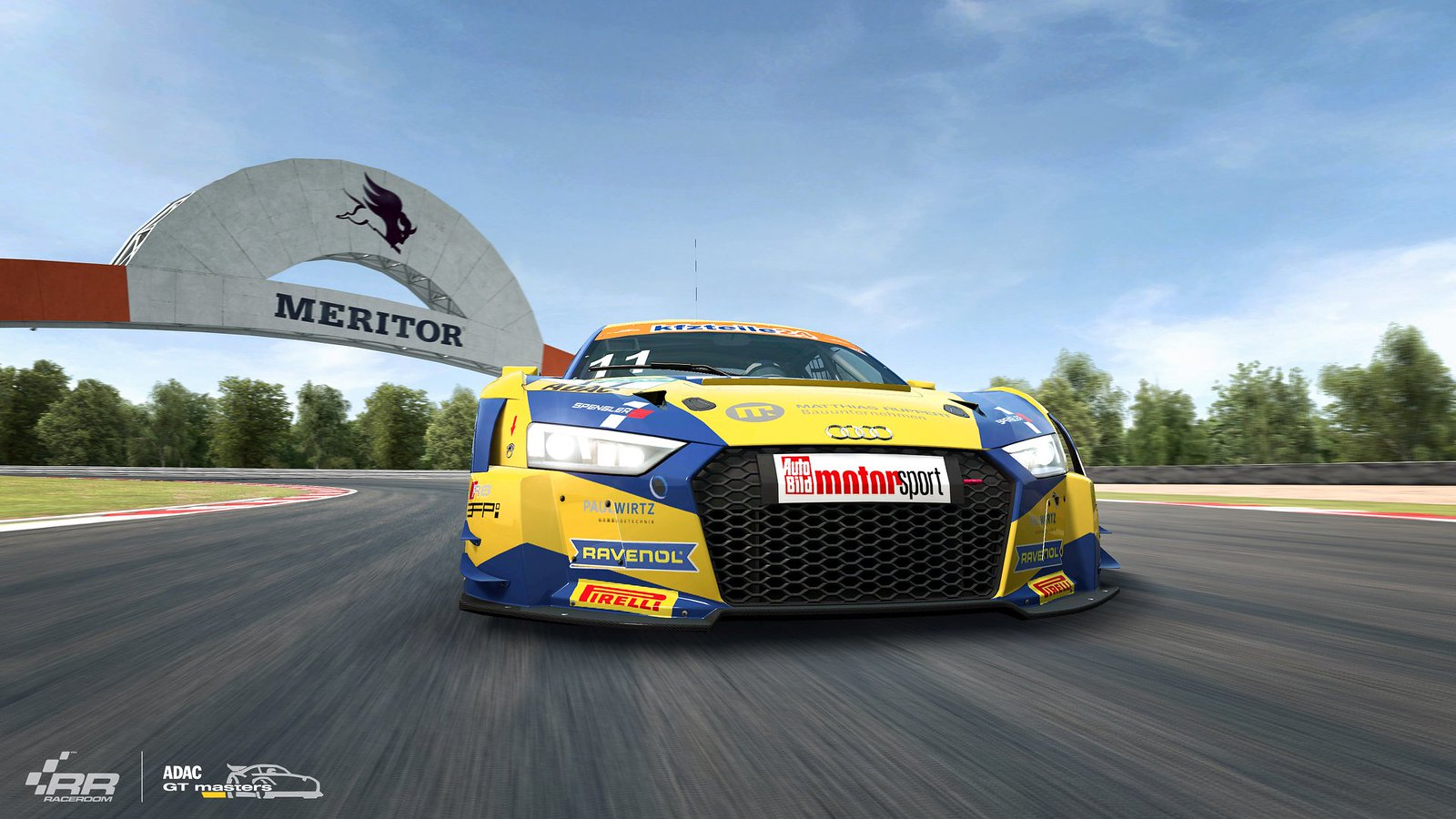 RaceRoom 2018 ADAC GT Audi 6