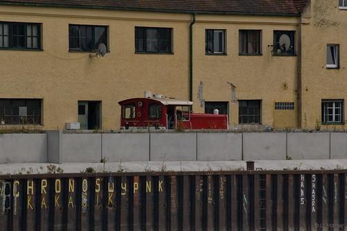 Köf 11 212 [a] 332 212-0 -Tante Emma- am Hafen in Deggendorf